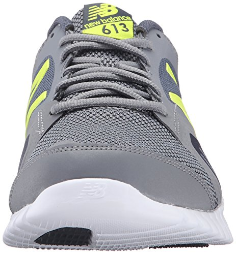 New Balance Mens 613v1 Cross Training Shoe Grey/Yellow