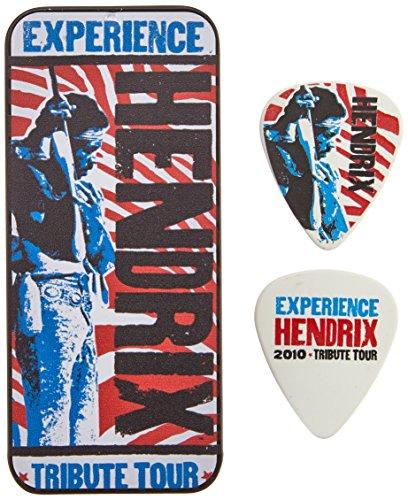 - Dunlop JHPT09M Jimi Hendrix Tribute Tour Pick Tin, Assorted, Medium, 6 Picks/Tin