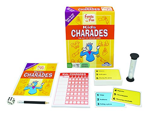 Charades for Kids - An Imaginative Classic Party Game for Yo
