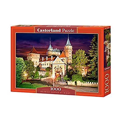 Castor Paese C Di 103393 2 Puzzle Bojnice Castle At Night 1000 Pezzi