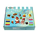 Air Dry Clay 48 Pieces 26.4 Ounce, Modeling Clay 48 Colors, Magic Clay with Tools and Manuals (750 Gram), Christmas Boxes