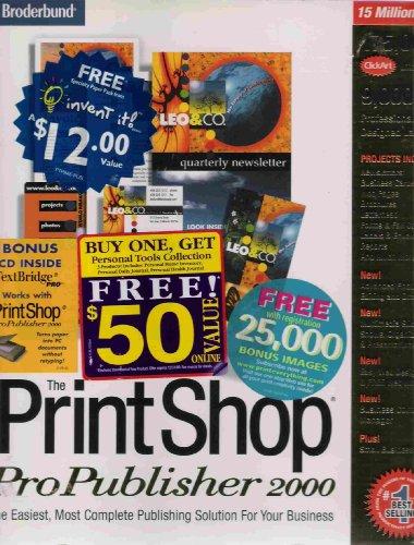 Print Shop Publisher 2000 Version 10