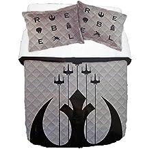 Star Wars 40th Anniversary FULL Quilt & Sham set (Full/Queen Quilt & Sham)