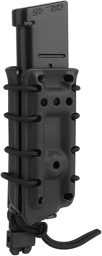 Tactical Single Stack Mag Pouch Carrier Single Magazine Pouch Holder .45ACP 1911