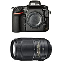 Nikon D810 FX-Format DSLR Camera with 55-300mm Lens