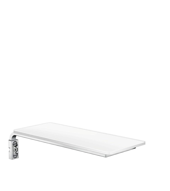 Hansgrohe Porte-savon Casetta E pour Barre de Douche Hansgrohe Unica E Blanc//Chrome 26511400