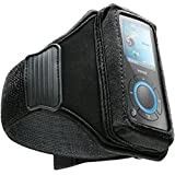 DLO Universal Sport-Ready Neoprene Case for MP3 Players (Action Jacket) with Adjustable Rubberized Armband, Black, DLZ59078/17