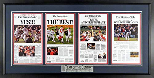 2007 Boston Red Sox Framed - Boston Red Sox