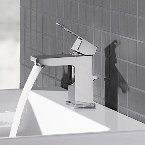Eurocube Centerset Single-Handle Single-Hole Bathroom Faucet - 1.5 GPM