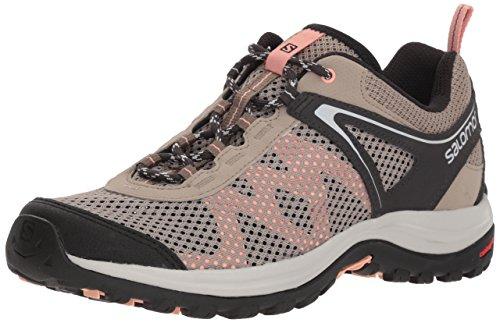 Kaki Rise Almond Green Coral Beige Women's Phantom Ellipse Mehari Boots Vintage Hiking Salomon 000 Low wgAHvwq