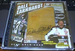Dale Earnhardt 23kt Gold Trading Card