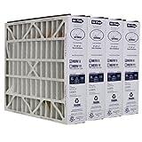 Trion Air Bear 255649-103 (4 Pack) Pleated Furnace Air Filter 20''x20''X5'' MERV 8
