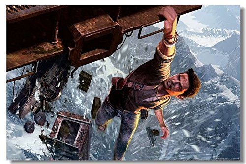 Price comparison product image Lawrence Painting Uncharted 1 2 3 Drakes Deception Fortune Among Thieves Game Canvas Wall Poster Hd Big Posters And Prints Decor On The Walls 08
