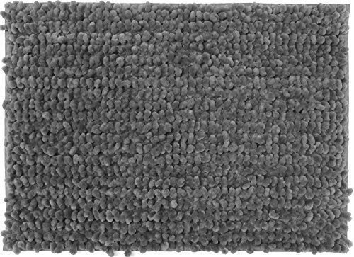 Rug Area 6' Large (Casale Home 847431000366 New Cut and Large Loop Microfiber Chenille Area Rug, 4x6', Grey)