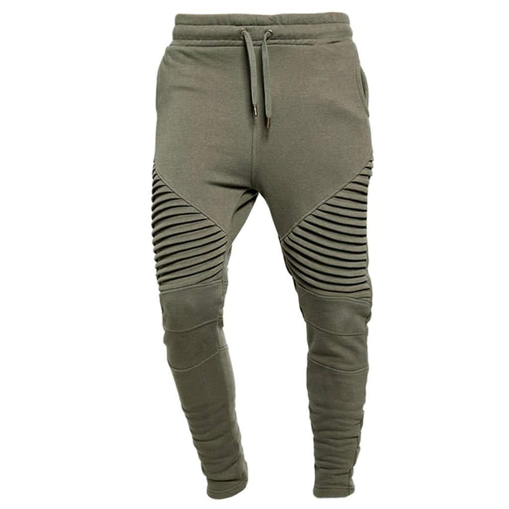 Pantalón Deportivo Hombre Verano Moda Costura Casual Hip Hop ...