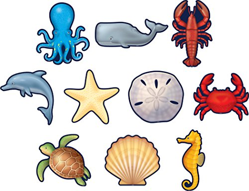 Teacher Created Resources (8895) Nautical Sea Life Accents (Nautical Accent)