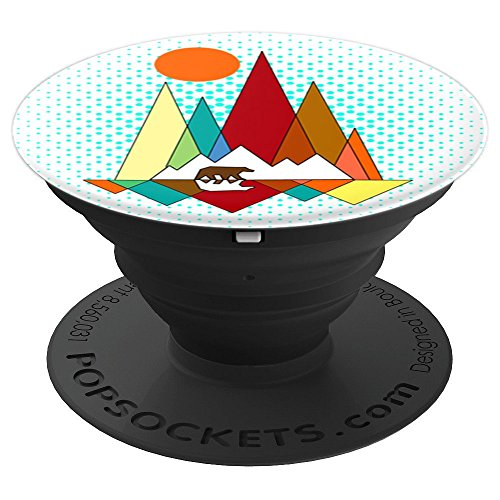 eometry - PopSockets Grip and Stand for Phones and Tablets (Wireless Bear)
