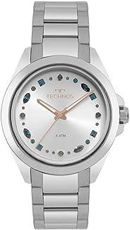 Relógio Technos Feminino Crystal Prata - 203aab/1k