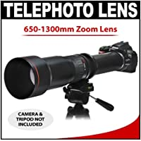 Vivitar 650-1300mm f/8-16 SERIES 1 Telephoto Zoom Lens for Nikon D40, D60, D90, D200, D300, D300s, D3, D3s, D3x, D700, D3000 & D5000 Digital SLR Cameras