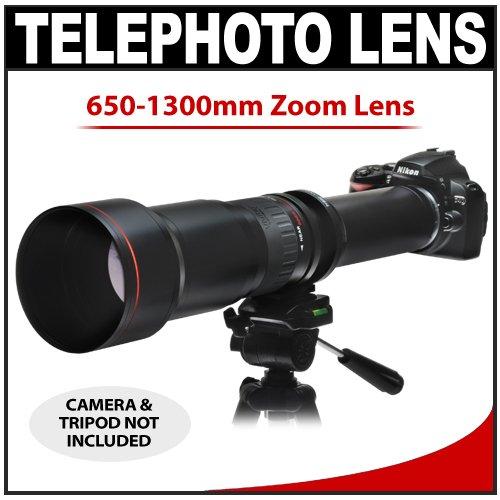 /8-16 SERIES 1 Telephoto Zoom Lens for Nikon D40, D60, D90, D200, D300, D300s, D3, D3s, D3x, D700, D3000 & D5000 Digital SLR Cameras ()