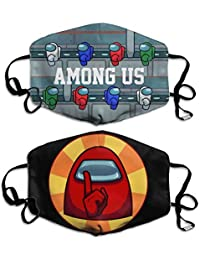 Among Us Game Crewmates Impostor Face Mask Balaclava Scarf