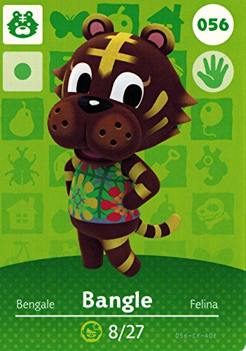 Animal Crossing Happy Home Designer Amiibo Card Bangle 056/100