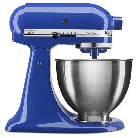 KitchenAid 4-1/2-Quart Ultra Power Stand Mixer, Twilight Blu