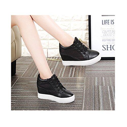 Chaussure Sneaker Talon Dentelle Mode Baskets CM Compensé Femme 7 xRv76Cq