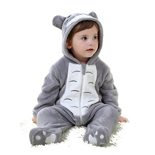 (CANDIDO Toddlers' Pajamas Unisex Baby Cosplay Animal Onesie Romper #70)