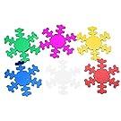 120pcs Snowflake Sequin Confetti Christmas Scrapbooking