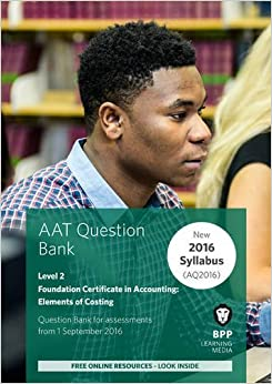 AAT - Elements of Costing: Question Bank