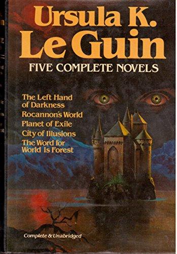 Ursula K Le Guin: 5 Complete Novels