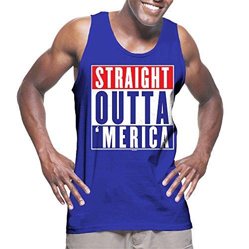 Mens Straight Outta Merica American