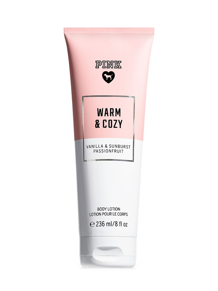 Victoria's Secret PINK Fragrance Body Lotion Warm And Cozy