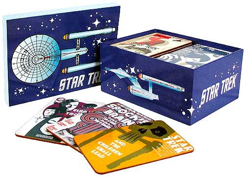Star Trek TOS Fine Art Coasters Set 1 - Convention Exclusive by Bif Bang Pow!
