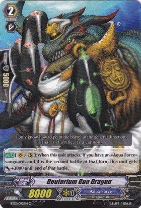 Cardfight!! Vanguard TCG - Deuterium Gun Dragon (BT13/092EN) - Catastrophic Outbreak (Gun Dragons)