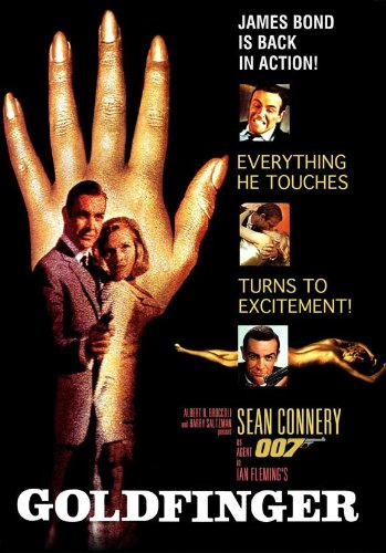 Image result for goldfinger movie poster