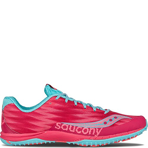 Saucony Racing Flat Shoe Blue XC5 Kilkenny Red Women's 6xqtZrI6
