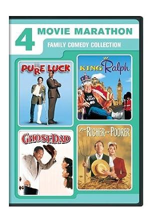 Amazon com: 4 Movie Marathon: Family Comedy Collection (Pure Luck