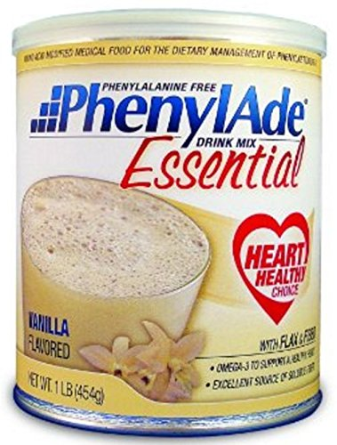 PhenylAde Essential Drink Mix – 1lb – Vanilla