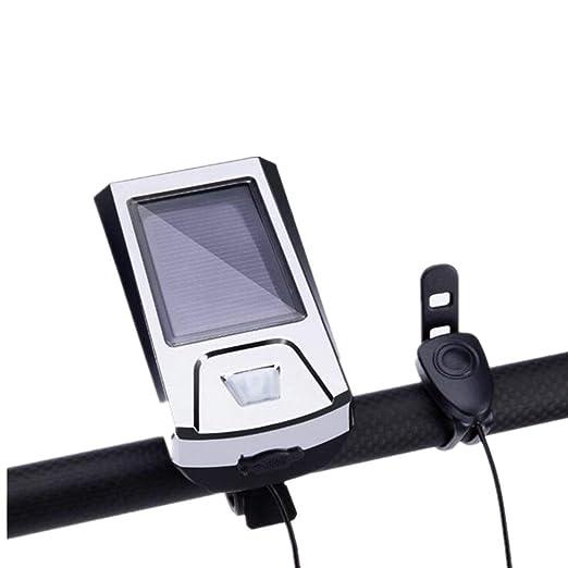Laishutin Piloto Trasero Luz de bocina de Bicicleta de energía ...