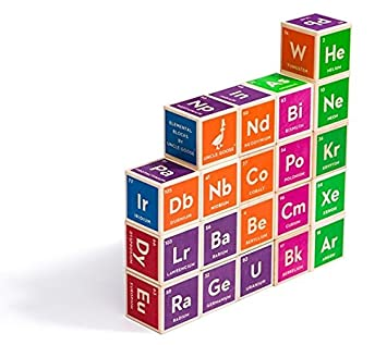 Uncle goose periodic table building blocks amazon electronics uncle goose periodic table building blocks urtaz Gallery