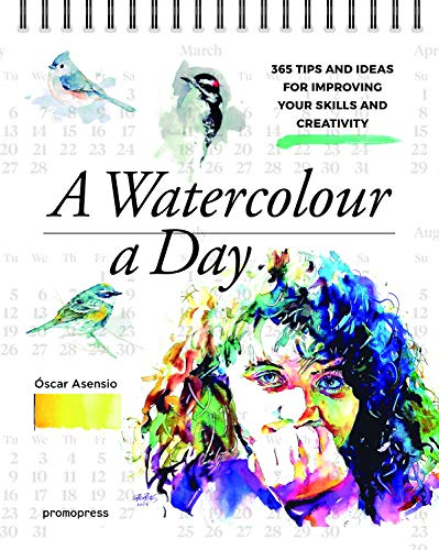 - A Watercolour a Day: 365 Tips and Ideas for Improving Your Skills and Creativity