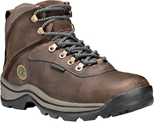 (Timberland 12135 Men's White Ledge Mid WP Boot Dark Brown 10.5 M US)