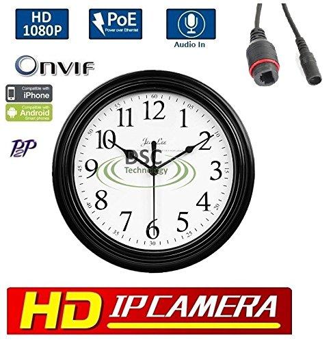 1080P 2.0MP HD IP PoE/12VDC Hidden/Spy Security Ca...