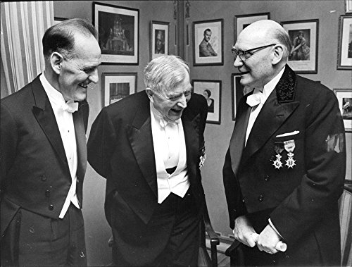 - Vintage photo of Three of them honored by the Engineering Academy: Senior Engineer Orvar Dahle, File. Dr Olof Arrhenius and Professor Sten Hallberg