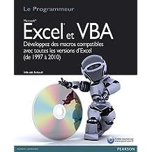 Excel et vba programmeur (le)