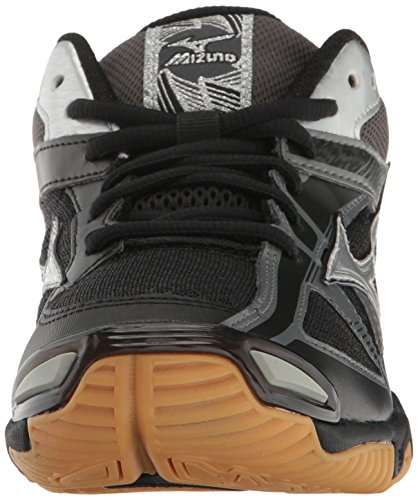 Shoe Bolt 6 Wave Multi Black Women's Volleyball Mizuno Silver wEqctWXHx