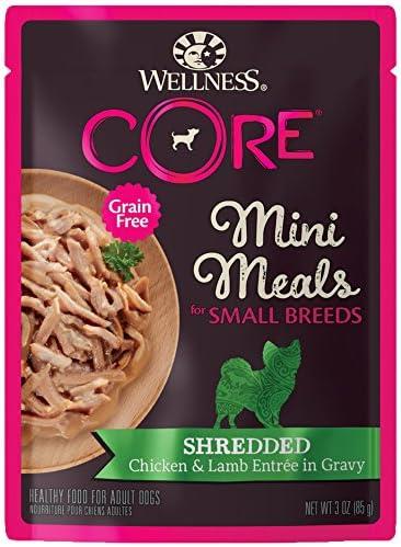 Wellness CORE Natural Grain Free Small Breed Mini Meals Wet Dog Food