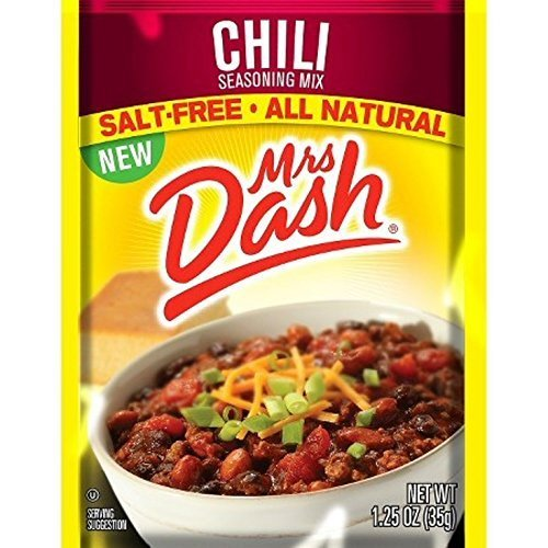 Mrs. Dash Chili Seasoning Mix, 1.25 oz - 6 packages